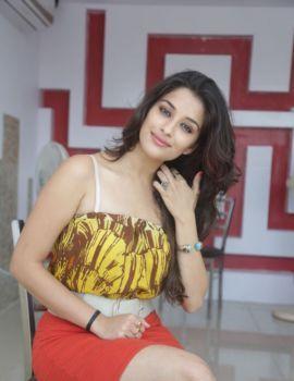 Telugu Actress Madhurima at Agra Mithaiwala Sweet Shop Launch