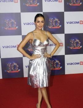 Malaika Arora Pics at Viacom18 Studio 10th Anniversary
