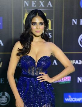 Malavika Mohanan Stills at IIFA 2019 Green Carpet