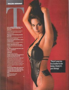 Mallika Sherawat Photoshoot for Maxim India (January 2007)