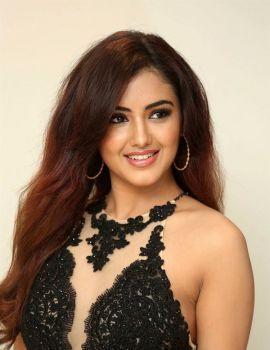 Malvika Sharma Pics at Raja Varu Rani Garu Movie First Look Poster Launch
