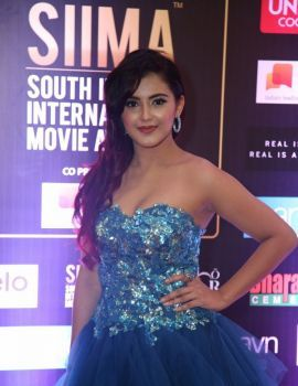 Telugu Actress Malvika Sharma stills at SIIMA 2019