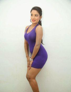 Mamatha Rahuth at Calling Bell Telugu Movie Audio Launch