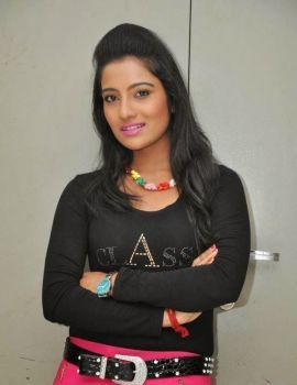 Mamatha Rahuth Photos at Calling Bell Movie Theatrical Trailer Launch