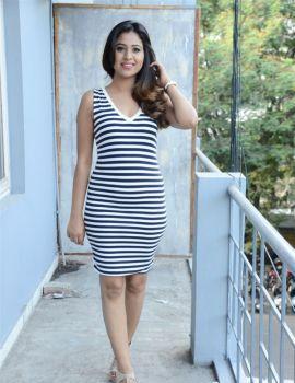 Manali Rathod At Fashion Designer S O Ladies Tailor Movie Press Meet