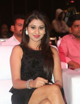 Manali Rathod at Hyderabad Love Story Movie Audio Launch