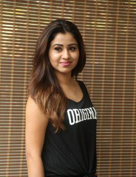 Manali Rathod Stills at Celebrity Badminton League Press Conference