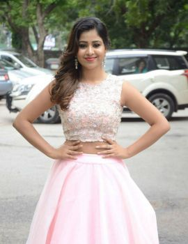 Manali Rathod Stills at Kamaneeya Company Launch