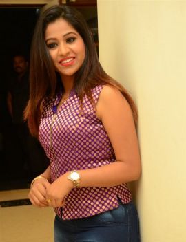 Manali Rathod Stills at Telangana Premier League