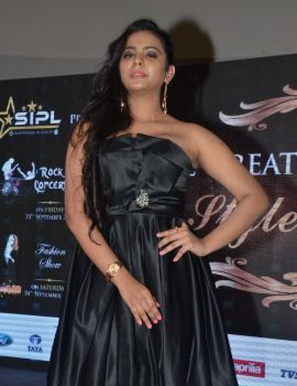Manasa Himavarsha at The Great Hyderabad Lifestyle Expo 2016
