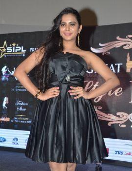 Manasa Himavarsha at The Great Hyderabad Lifestyle Expo 2016