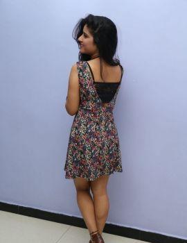 Manisha Thakur at Hyderabad Love Story Platinum Disc Function