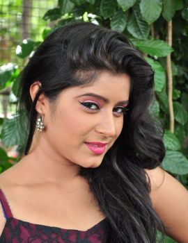 Telugu Heroine Manisha Thakur Photos at Avanthika Movie Launch Event