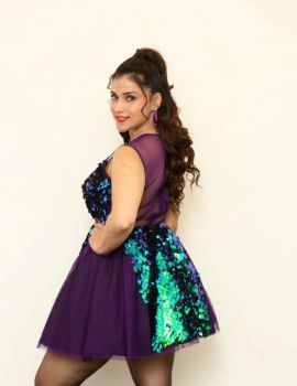 Mannara Chopra at Bang Bang New Year 2019 Celebration