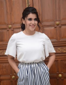 Mannara Chopra Stills at Thikka Movie Audio Launch