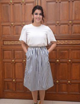 Mannara Chopra Stills at Thikka Movie Audio Launch