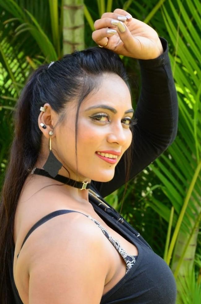 Meghana Chowdary at Ramasakkanollu Movie Trailer Launch