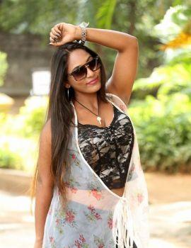 Meghana Chowdary Photos at Yedu Chepala Katha Movie Press Meet