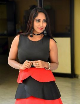 Meghana Chowdary Pics at Hello Madam Movie First Look Launch