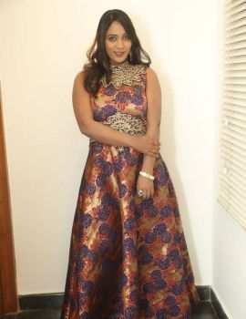 Meghana Chowdary Stills at HBD Movie Pre Release