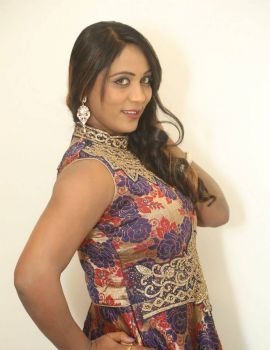 Meghana Chowdary Stills at HBD Movie Pre Release