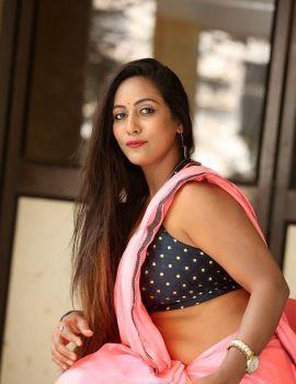 Meghana Chowdary Stills at Ranasthalam Movie Audio Launch