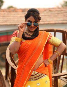 Meghana Chowdary Stills from Telugu Movie Ranasthalam