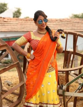 Meghana Chowdary Stills from Telugu Movie Ranasthalam