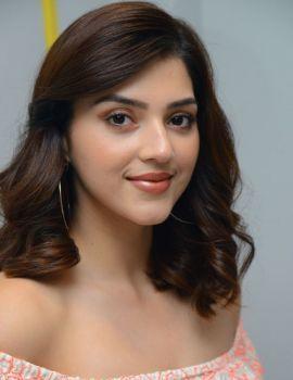 Actress Mehreen Pirzada Photos at Aswathama Movie Interview