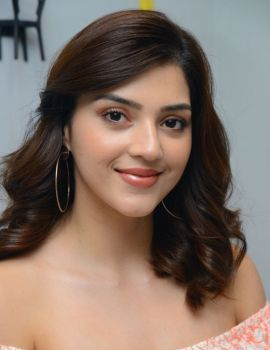 Actress Mehreen Pirzada Photos at Aswathama Movie Interview