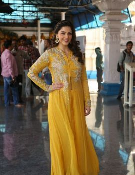 Mehreen Kaur Stills at New Tamil Movie Launch