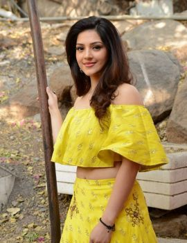 Mehreen Kaur Stills at Studio Green New Movie Launch