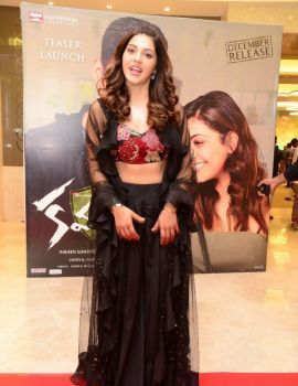 Mehreen Pirzada at Kavacham movie Teaser Launch