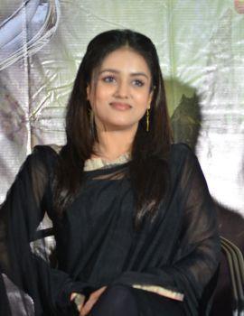 Mishti Chakraborty in Black Salwar at Sarabha Movie Press Meet
