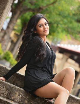 Mishti Chakravarty Latest Stills in Black Dress