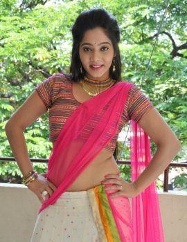 Telugu Actress Mithra at Aloukika Movie Press Meet