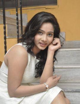 Telugu Actress Mithra Photos at Aloukika Movie Audio Launch