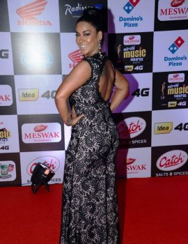 Mumaith Khan Stills at Mirchi Music Awards