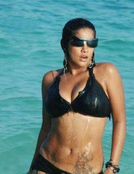 Mumaith Khan Swimsuit Stills in Telugu movie Punnami Nagu