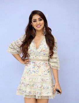 Muskan Sethi Photos at Ragala 24 Gantallo Movie First Look Poster Launch