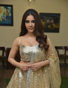 Nabha Natesh at Maestro Movie Pre Release Event