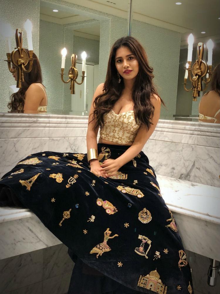 Nabha Natesh pics from SIIMA Event in Dubai