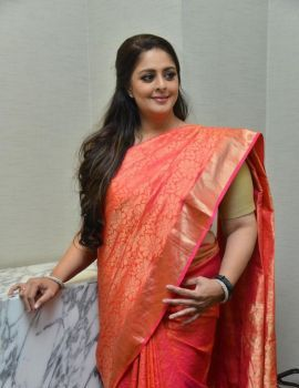 Nagma Stills from TSR Awards 2019 Press Meet