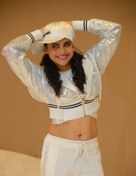 Naina Ganguly in White Outfit at Beautiful Movie Pre-Release