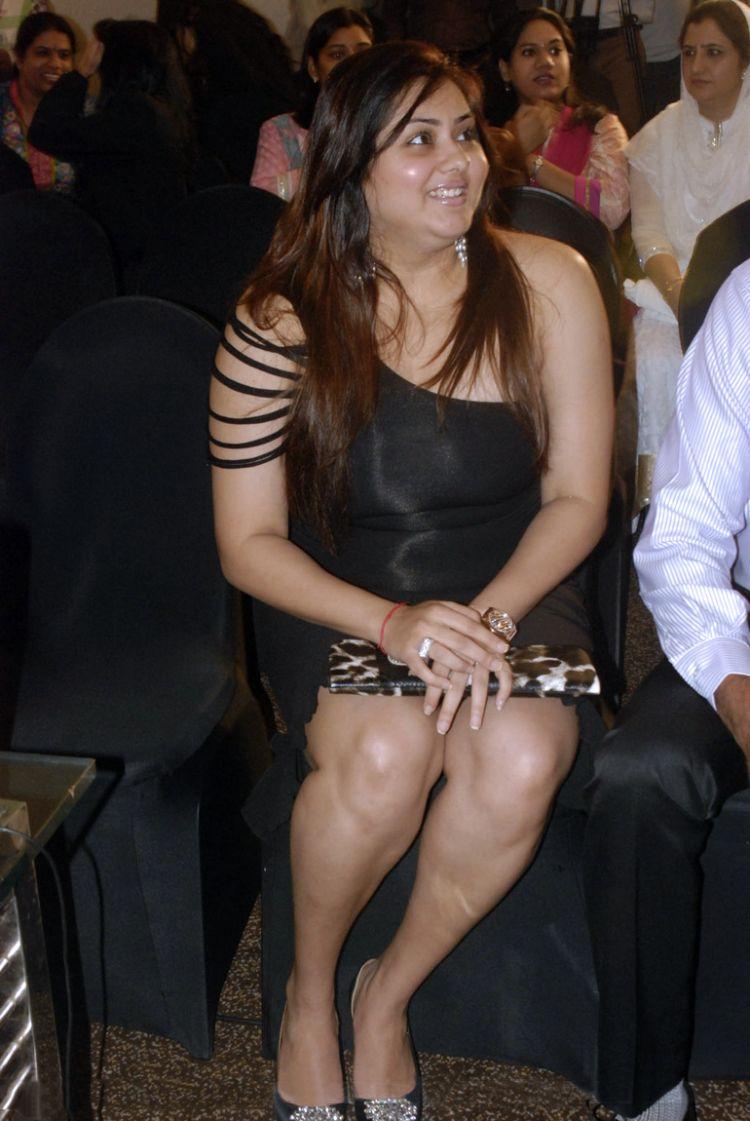 Actress Namitha at Beauty Because Club Inauguration