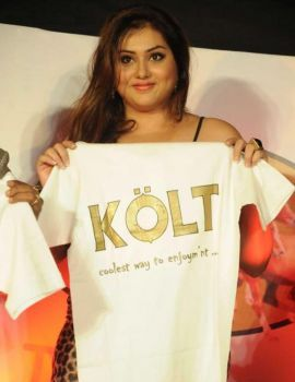 Actress Namitha at Kolt Beer Opening Stills