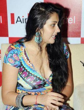 Namitha at Airtel Meet