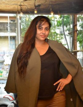 Namitha at Bistro Christmas Cake Mixing Ceremony