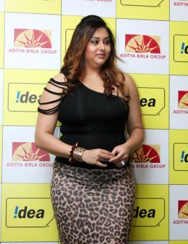 Namitha at Idea Mobile Launch