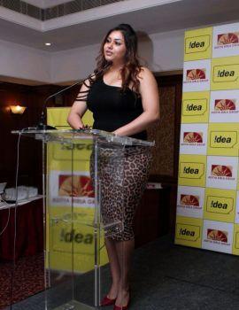 Namitha at Idea Mobile Launch